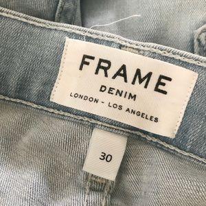 Frame skinny crop jeans Sz 29